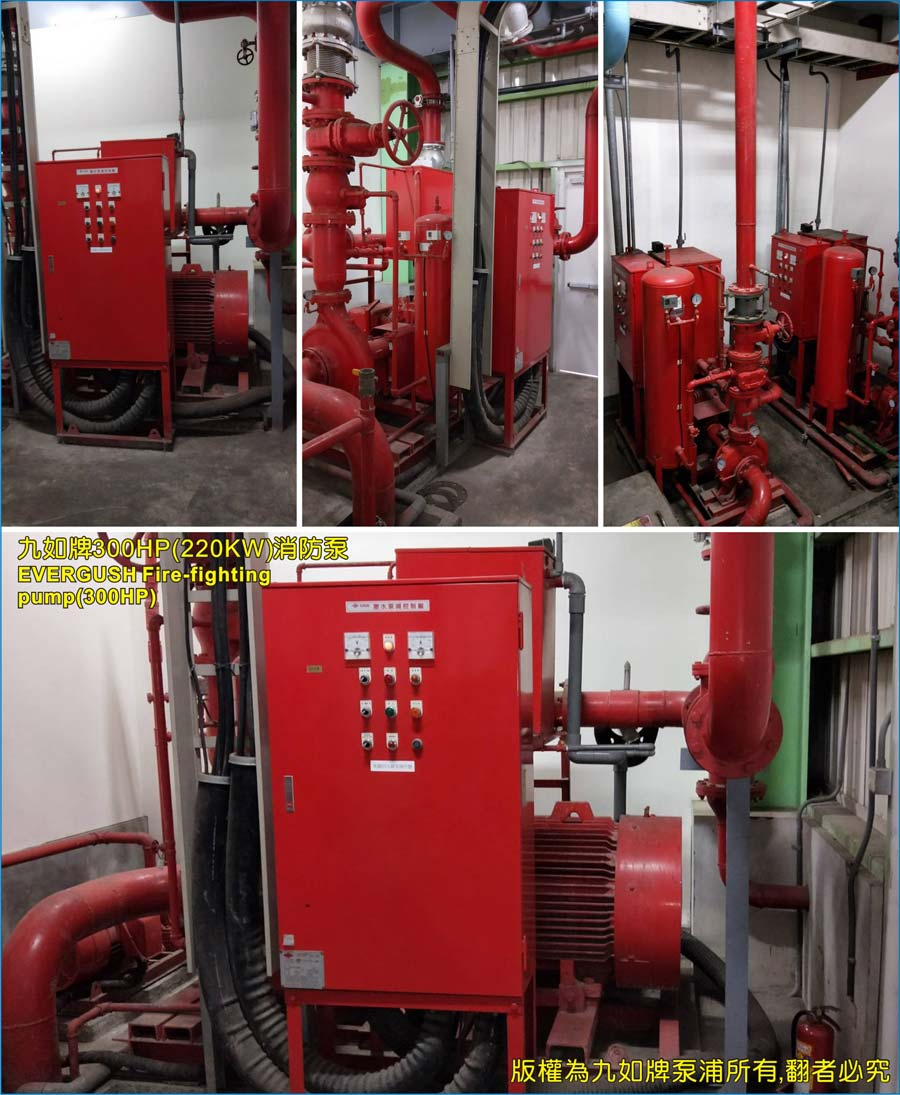 EVERGUSH 300HP Fire-fighting pump sets